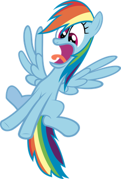 Rainbow Surprised by RelaxingOnTheMoon