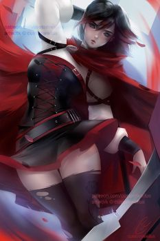 (PREMIER) Level1 Ruby Rose (RWBY) by customwaifus