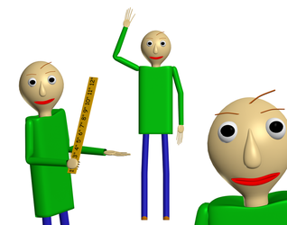 Baldi [Blender] by a1234agamer