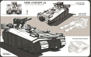 tank concept 2 by deremwee