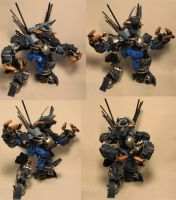 Zoids Bionicle Kitbash GBus by whodagoose