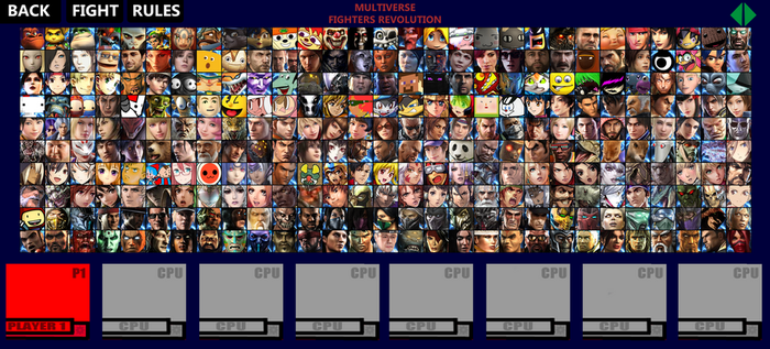 Multiverse Fighters Revoltution Roster (Page 6) by SuperMaster10
