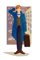 Newt Scamander by Discord888