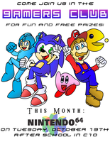 Gamers Club Poster by ClassicTeam