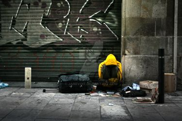 on streets of barcelona by janevoit