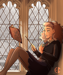 Hermione by Sketchderps