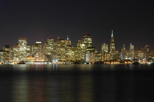 Classic SF Cityscape by ppetracca