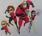 The Incredibles by lcsanders