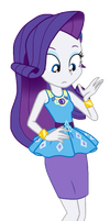 EQG Series - Rarity New Look by ilaria122