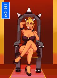 Bow Chicka Bowsette by 100-EXP