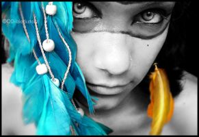 little indian by Overdose-delusions
