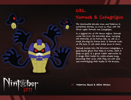 Nintober 031. Yamask and Cofagrigus