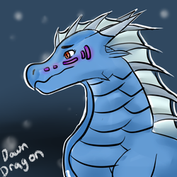 Seawing Icewing hybrid by TheDawnDragon