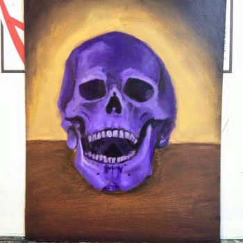 Purple Skull by Colleen80