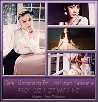 [PHOTOPACK] Girls' Generation for ''Lion Heart'' by hihyenmi2