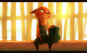 [Zootopia] On the Road again eh, hotshot? by SprinKah