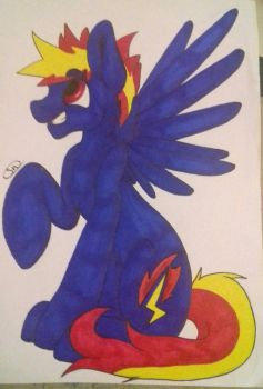 Request (Flamebolt) by Seth-Draws073