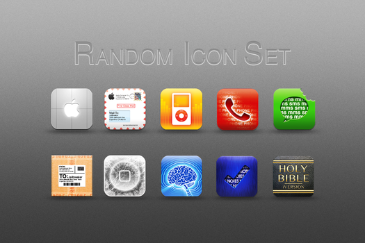 Random Icon Set by technouse