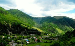 Village in Romania by Dbdfan
