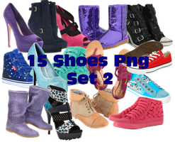 Shoes Png set2 by JEricaM