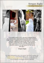 Keegan Rigby Photography Flyer by JSWoodhams