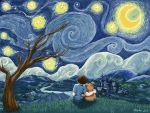 Starry Wishes for Vincent by LeeAnneKortus