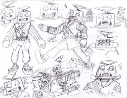 The Tin Soldier Sketchs by Rhay-Robotnik