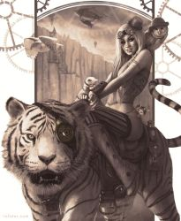 Kate and kittens by rafater