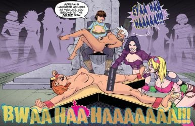 TICKLING IN SPACE 18: Scroundrel Army #1 Preview by MTJpub