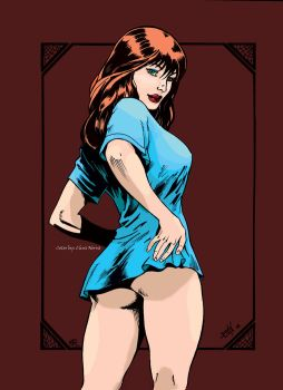 Mary Jane Watson by chrnorris