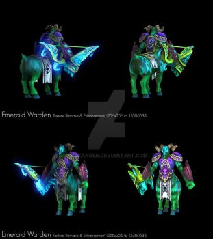 Heroes of Newerth Emerald Warden HD by CJXander