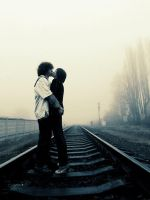 love on a traintrack by insanexbeauty