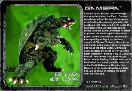 G Unleashed: Gamera by MegaZeo