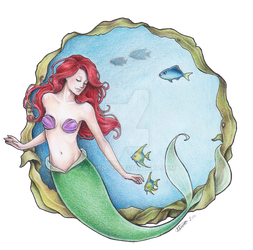The Mermaid named Ariel by Achen089