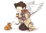 Castiels Cats by AskTeamFreeWill