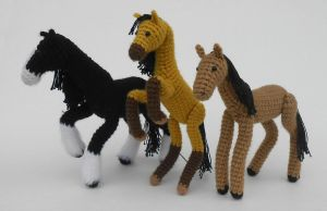 Horse Pattern Now Available! by Pickleweasel360
