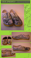 Sea Smashed - Shoe Design by ovaettr