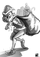 .: How the Grinch Stole My Xmas :. sketch by Hikari151