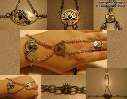 Steampunk Bringlet by Goagleon