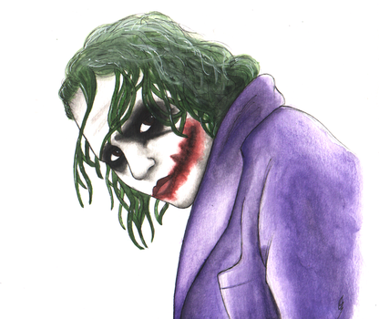 Why so serious? by DrawsFromMyMind