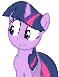 Twilight Sparkle - Approving Glance by PaleoSteno