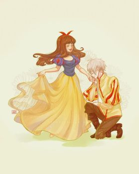 Mystic Messenger: Prince and Princess by Soverrein