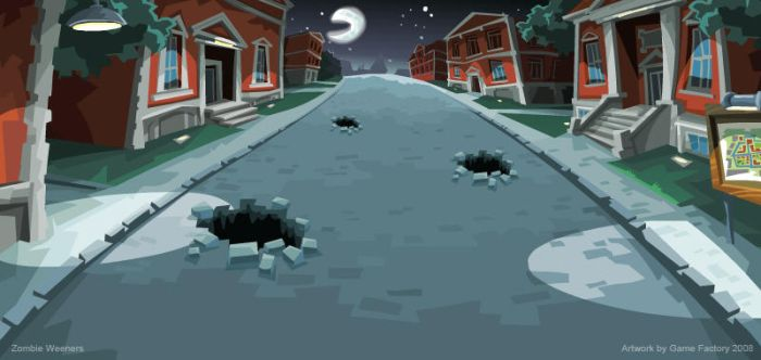 Zombie Weeners: Campus by Game-Factory