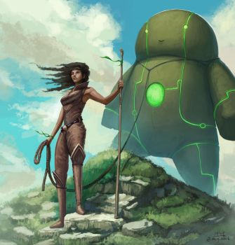 Remember to walk your golem every day by mcgmark