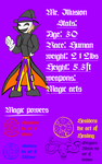 Mr. Illusion Ref sheet by Thesimpleartist4