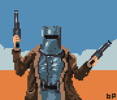 Ned Kelly by eigenbom