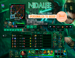 Headhunter Nidalee HUD League of Legends by LeftLucy