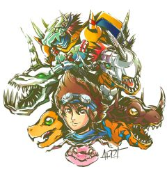 Digimon series01 by ARRT90