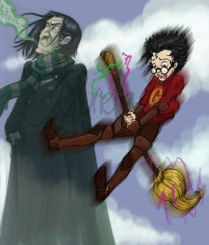 Cursed Broom by Murielle