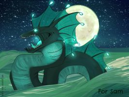 _Special Gift: Water Dragon by Colorful-Gray